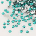 Jewel Embellishments, Resin, Turquoise, Faceted Discs, 2 x 2 x 0.8mm, 300  pieces (approx), (ZSS064)